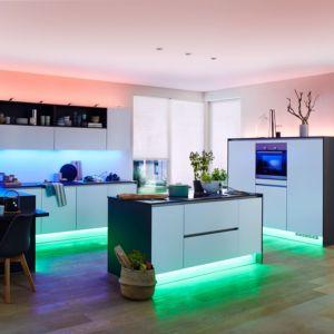 RGB, Warmwit LED-strip basisset Met stekker 230 V 300 cm Paulmann 70628