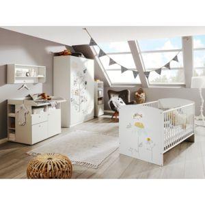 Home24 Babybed MyMemory, Rauch Orange