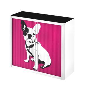Rollladenschrank easyOffice Pop Art Dog