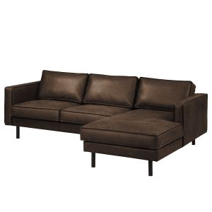 Ecksofa Fort Dodge Antiklederlook