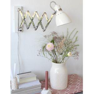 energie A++, Wandlamp Spring 1 lichtbron wit, Steinhauer