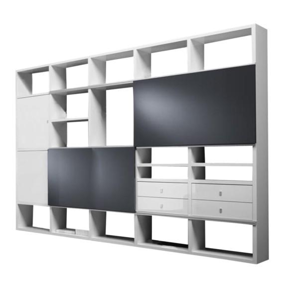 loftscape raumteiler f r ein modernes heim. Black Bedroom Furniture Sets. Home Design Ideas