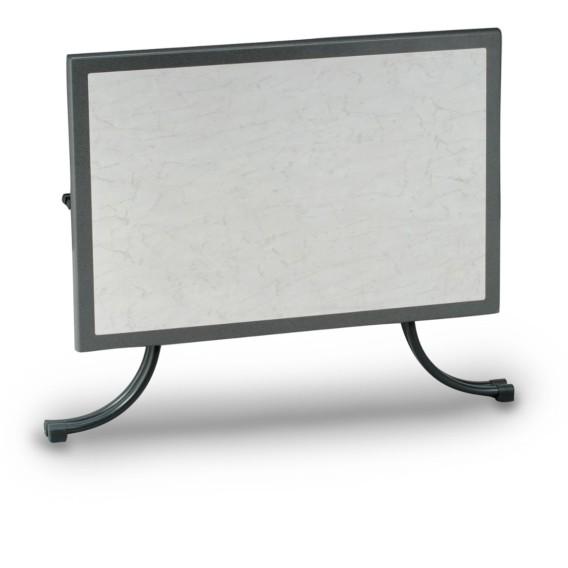 CmStahl Sunset120 werzalit 80 Tisch X marmoriert Weiß FclJK1T