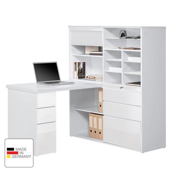 Jale Mini Weiß AlpinweißHochglanz Mini office AlpinweißHochglanz Jale office Weiß IbW2YeED9H