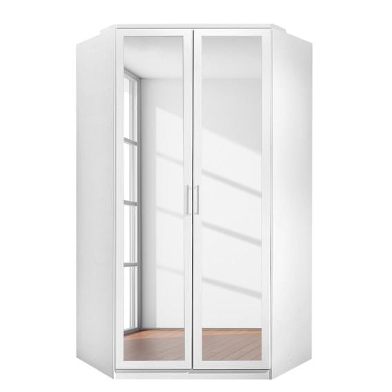 eckschrank click mit spiegel alpinwei. Black Bedroom Furniture Sets. Home Design Ideas