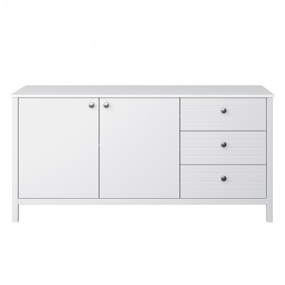 Sideboard York New WeißSilber New Sideboard York WeißSilber New Sideboard York TulJ13FKc