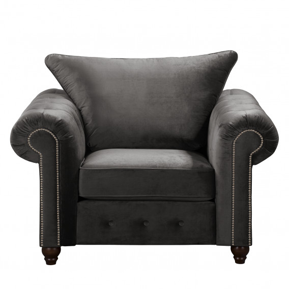 Sessel Sessel Grau SamtOhne Hocker SamtOhne Solita Hocker Solita 6Yg7yvbfI