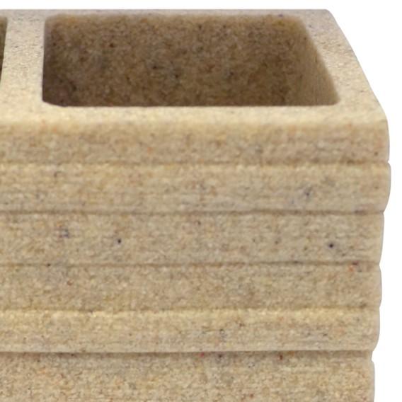 KeramikBeige Brick Zahnbürstenbecher Zahnbürstenbecher Brick Brick Zahnbürstenbecher KeramikBeige T1J3lFcK