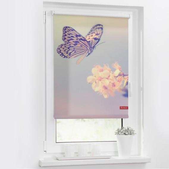WebstoffPastell X Rollo 70 150 Cm Schmetterling CeWrxBod