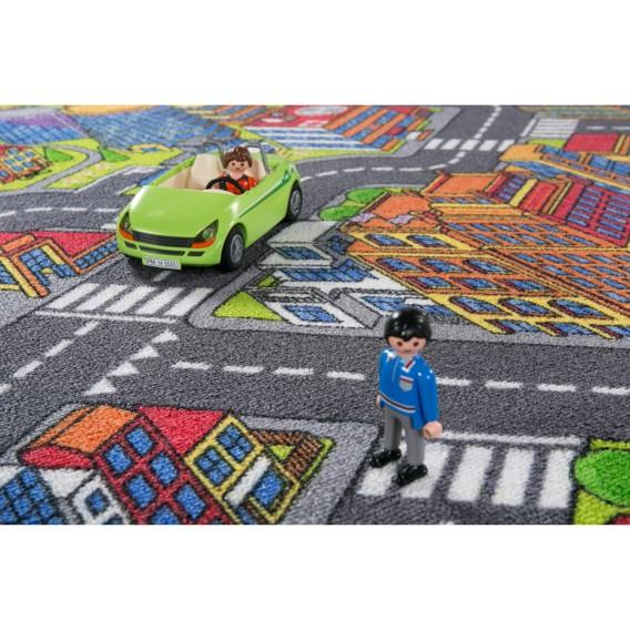 City PolyamidMehrfarbig 300 200 Big Cm X Kinderteppich AL3j54R