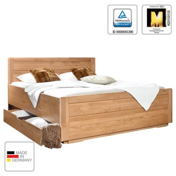 X EicheTeilmassiv180 Massivholzbett 200cm Lido Holz N8n0XOPkwZ