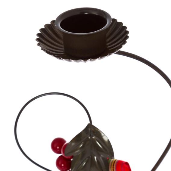 Kerzenständer EisenMango Bourke Kerzenständer TeilmassivRot TeilmassivRot Bourke EisenMango 0mNn8vw
