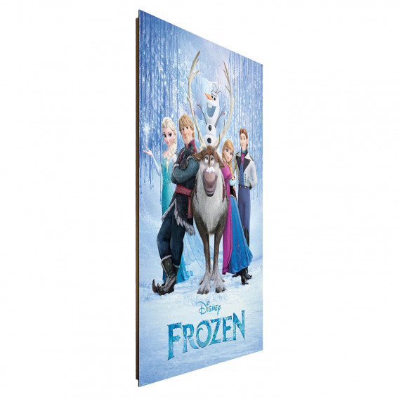 Disney's Mdfmitteldichte Bild Auf Eiskönigin Die Papier HolzfaserplatteMehrfarbig Cover m8vN0wn
