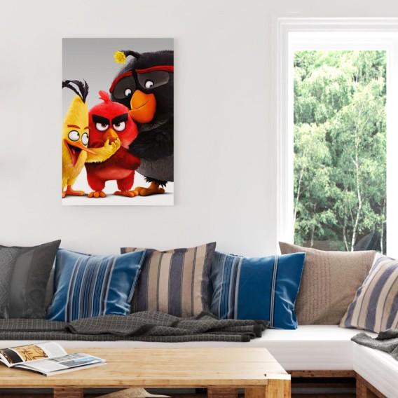 Birds Ii Angry Papier Mdfmitteldichte Bild Auf HolzfaserplatteMehrfarbig rxoeCBWd