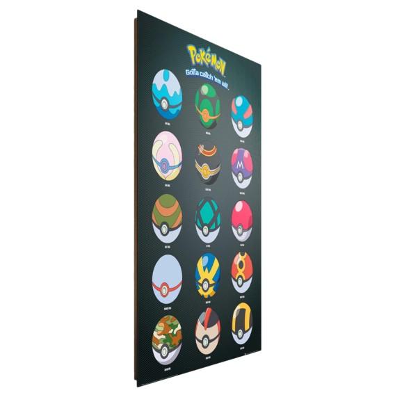 Papier I Pokemon HolzfaserplatteMehrfarbig Bild Mdfmitteldichte Auf l3T1FKJc