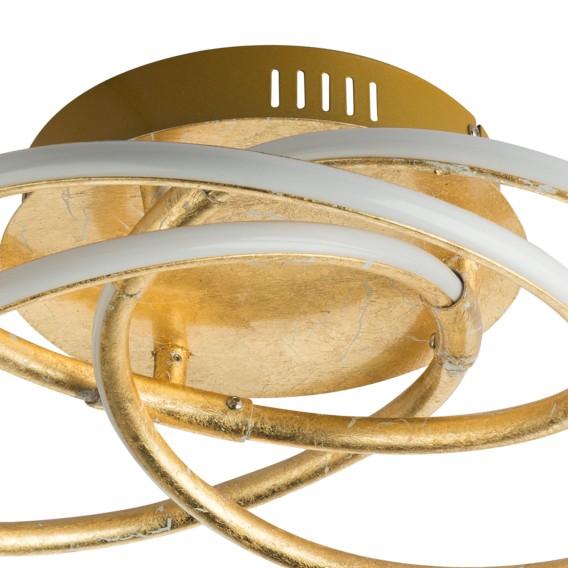 Led Gold flammig I Barna deckenleuchte AcrylglasEisen1 vIbgf76Yym