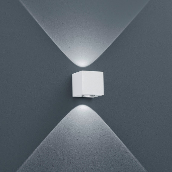 Led Peka Aluminium1 wandleuchte Weiß flammig UMqVGSzpL