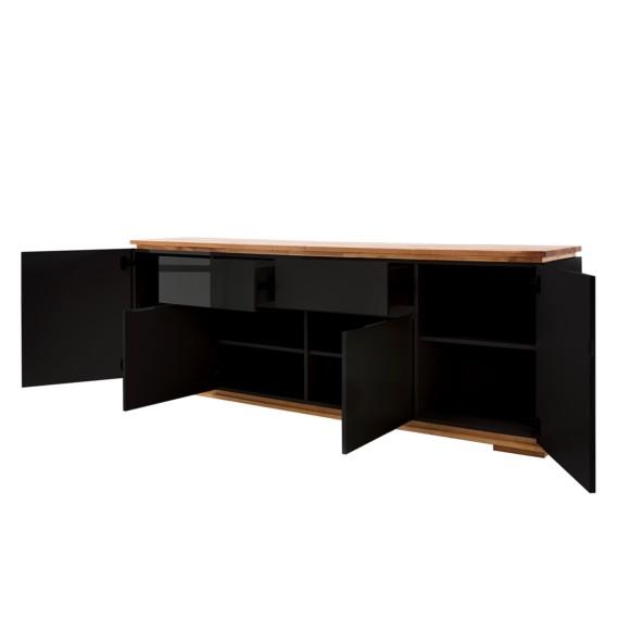 Hochglanz Schwarz Sideboard Lixeira Ii b67gYfy