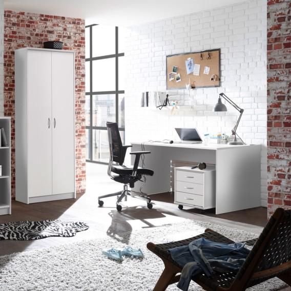 Schreibtisch Schreibtisch Weiß150 Cm Weiß150 Longfaye Longfaye WIH2D9E