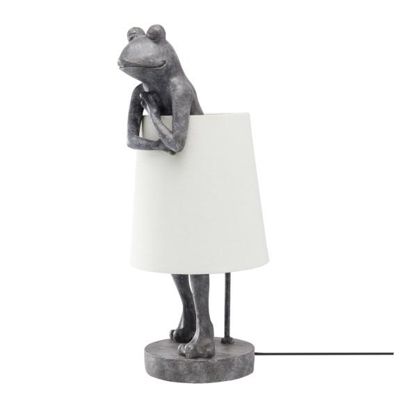 Frog flammig LeinenPolyresin1 flammig Tischleuchte Tischleuchte LeinenPolyresin1 Frog OkuwiXZTP