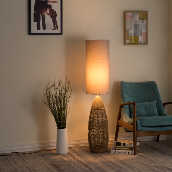 Lampadaire Harle - Lin / Fer | home24.be