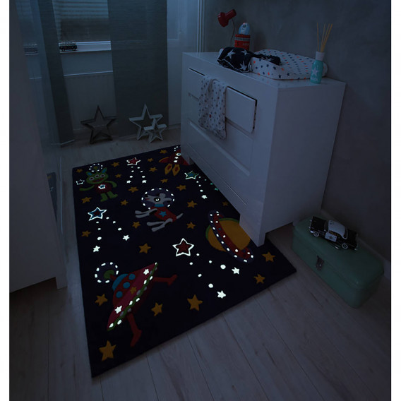 Glowy KunstfaserLilaMulti Glowy Kinderteppich Space Kinderteppich KunstfaserLilaMulti KunstfaserLilaMulti Space Kinderteppich Space Glowy Glowy Kinderteppich wm80vnON