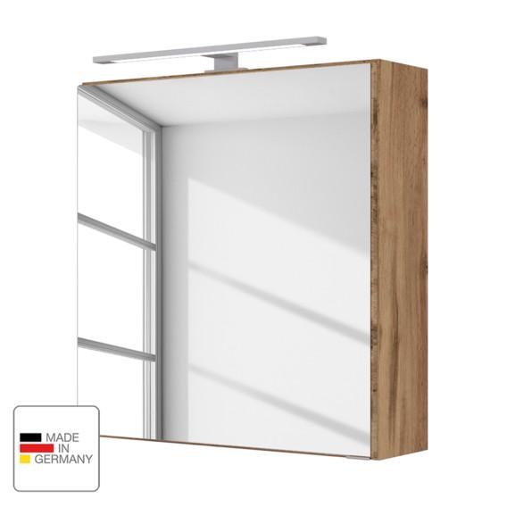 Eiche Wotan Spiegelschrank Dekor Davos Spiegelschrank 8OwvnmN0
