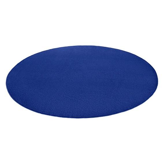 Kurzflorteppich Circle Cm Fancy MischgewebeDunkelblau 200 Ivfyb76Ygm