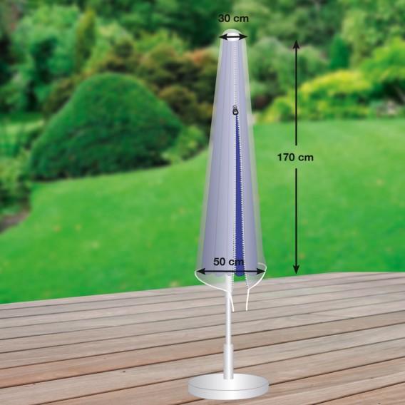Premium Schutzhülle Plus KunststoffLichtgrau Schutzhülle Sonnenschirm Premium Sonnenschirm 54RAjL