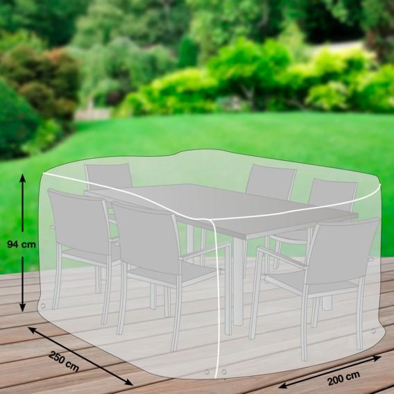 Plus Schutzhülle Sitzgruppe Premium KunststoffLichtgrau Iv HE29YWDI