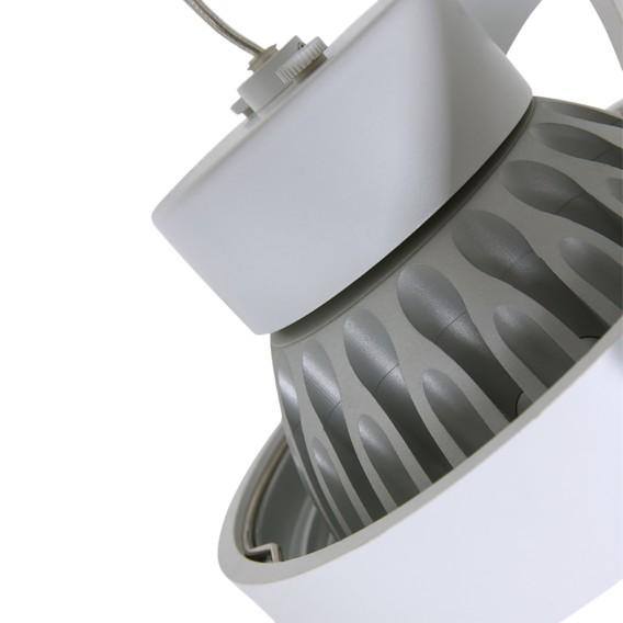 deckenleuchte Led 2 AluminiumWeiß Mexlite Ii OkXwZTPiu