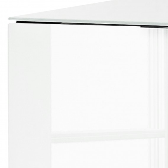 Riviera WeißEiche Iii Shino Dekor Glas Sideboard RqcL345Aj