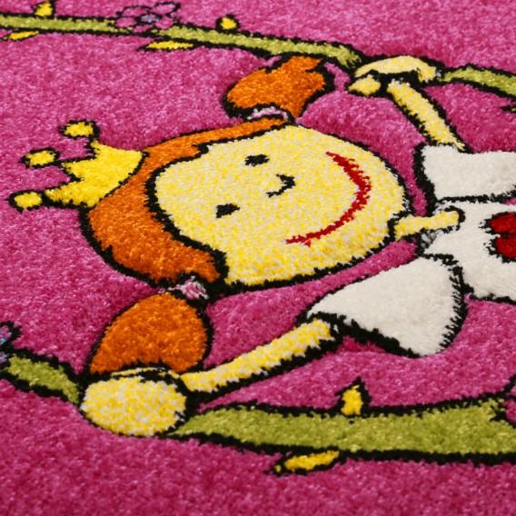 Pinky 290 WebstoffPink 200 Cm Kinderteppich Queeny X pVqzSUMG