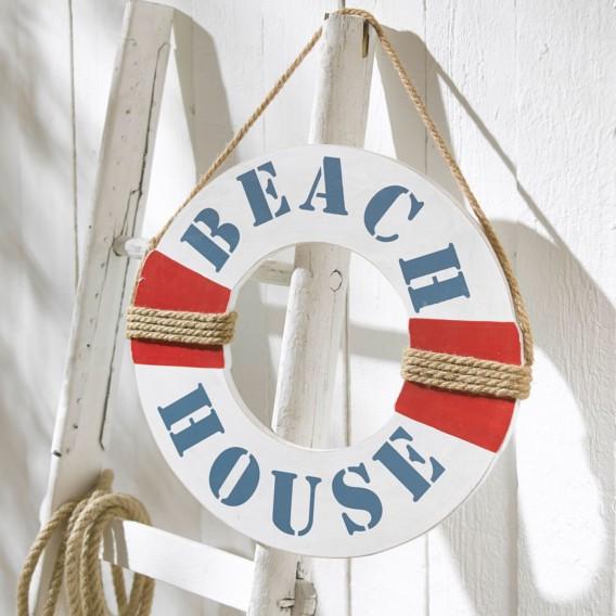 Weiß Beach House Weiß Wanddekoration House Wanddekoration Beach X8nPkw0O
