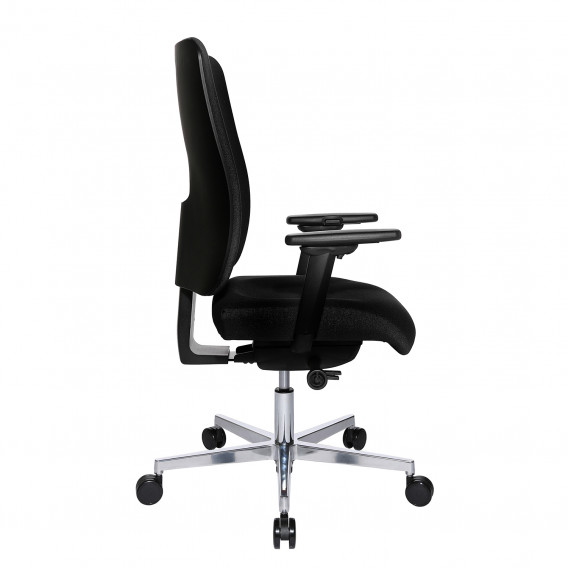 Deluxe Schwarz Ii Open Bürodrehstuhl Sitness X WebstoffAluminiumChrom uwkOXPZiTl