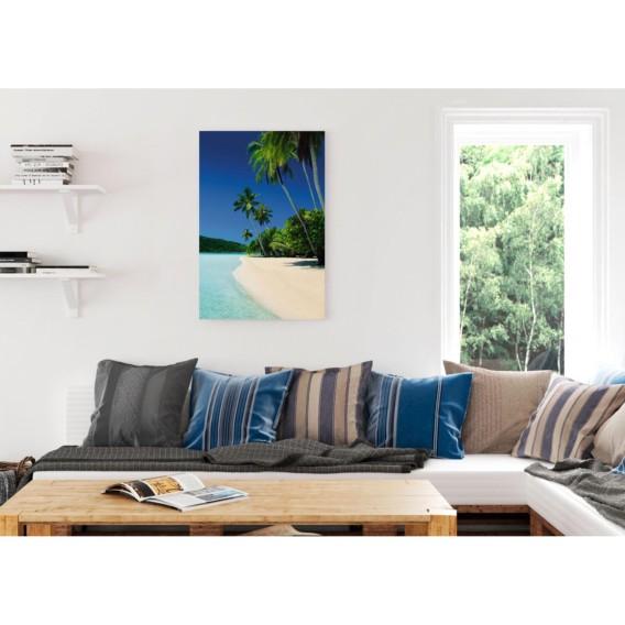 I Palm Palm Beach Beach Bild Bild PapierMdfBlau lJ3cT1FK