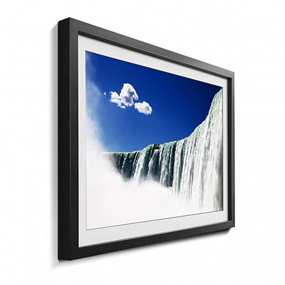 Massivholz Massivholz Niagara Bild LindeMehrfarbig Falls Bild Falls Niagara 1JFclK