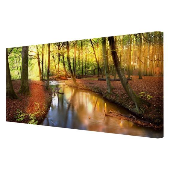 Bild Autumn Cm LeinwandMassivholz X Fairytale FichteMehrfarbig 120 60 g6Y7vIbfym