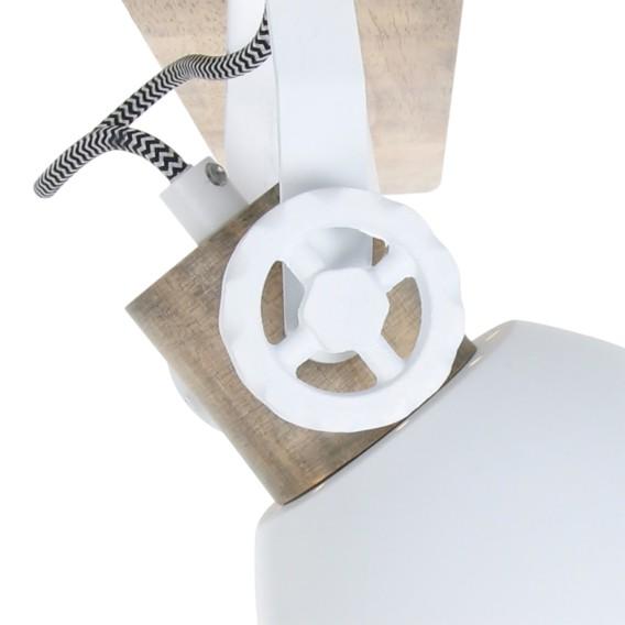 Gearwood Weiß Deckenleuchte EisenKiefer3 Deckenleuchte flammig DWH2IE9