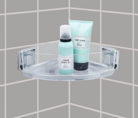 Wenko Eckablage Toilettenpapierhalter Duschregal Wandablage Handtuchhalter WC