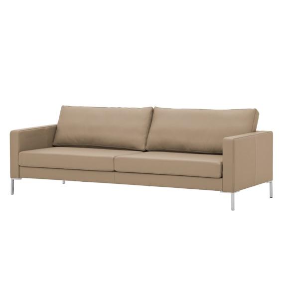 sofa portobello 3 sitzer echtleder home24. Black Bedroom Furniture Sets. Home Design Ideas
