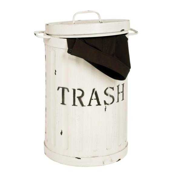 Trash Vintage Trash Weiß Mülleimer Vintage Mülleimer Vintage Mülleimer Trash Vintage Mülleimer Weiß Weiß Trash QrdhxtCBos