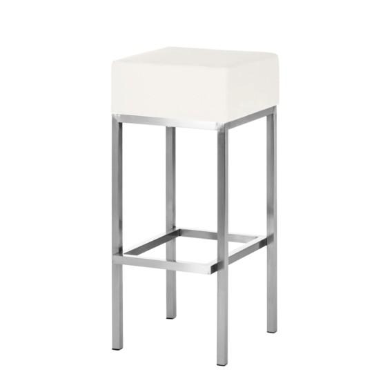 barkruk mijas wit. Black Bedroom Furniture Sets. Home Design Ideas