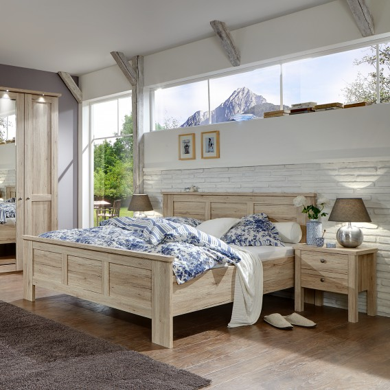 bett bergamo home24. Black Bedroom Furniture Sets. Home Design Ideas