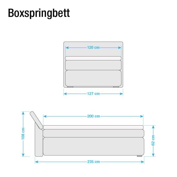 Borghi Boxspringbett Borghi Boxspringbett Borghi SchwarzGrau SchwarzGrau SchwarzGrau Boxspringbett ymOv8n0PNw