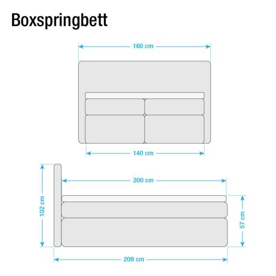 Boxspringbett Jeansblau140 Japura Boxspringbett X 200cm Japura 200cm Jeansblau140 Japura X Boxspringbett eEH2WDIY9