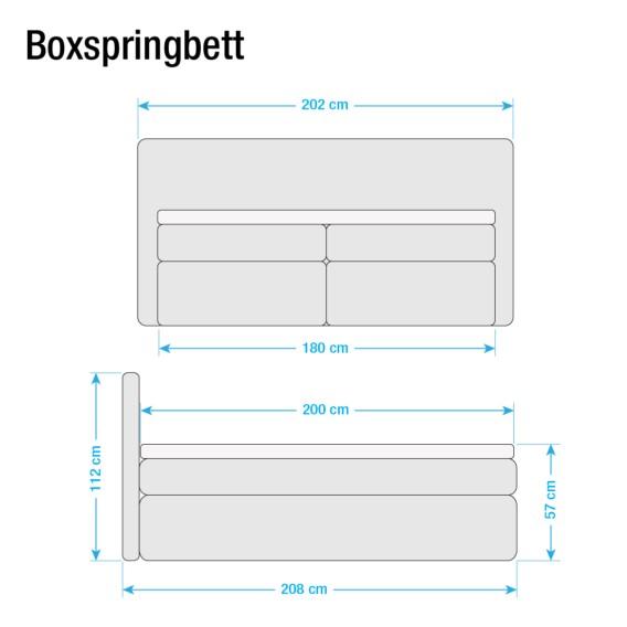 Boxspringbett Ledmore Beige180 Beige180 X 200cm Beige180 X Ledmore Boxspringbett X Boxspringbett 200cm Ledmore sdrhtQ