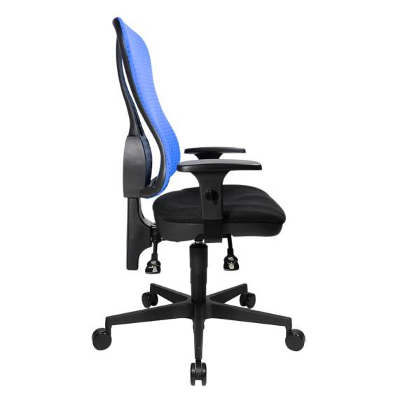 Armlehnen Ohne Kopfstütze Point Head Bürodrehstuhl BlauSchwarzHöhenverstellbare QCshdrxt