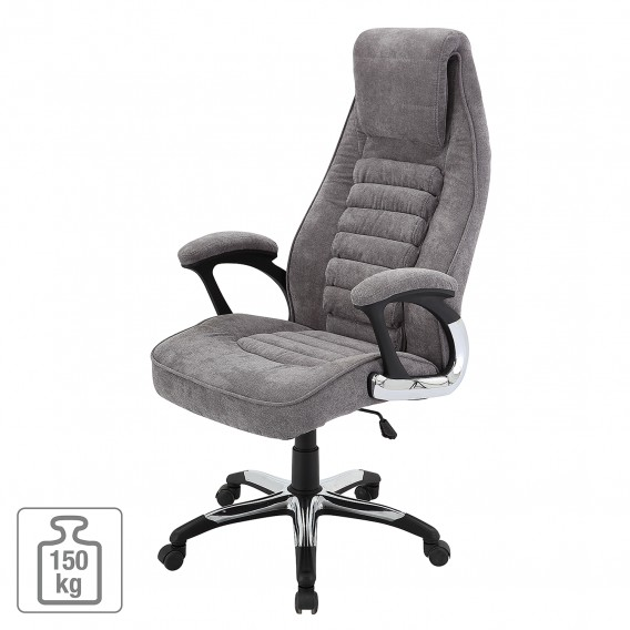 Mooie Stevige Bureaustoel.Bureaustoel Cambs Microvezel Metaal Home24 Be
