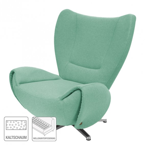 Webstoff Tom Mint Designersessel Designersessel Tom XOikuPZwT